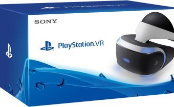 PlayStation VR game boxes
