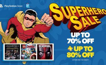 PlayStation Superhero Sale