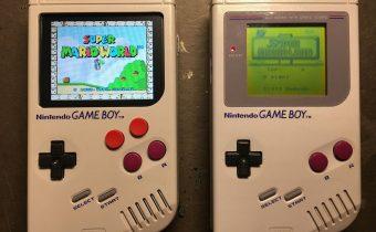 Rasberry Pi powered Nintendo Gameboy