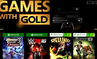 Games with Gold for August 2016