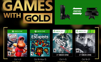 Xbox Live Games with Gold October 2016