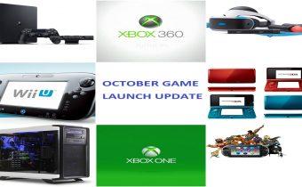 October Game Launch Update 2016