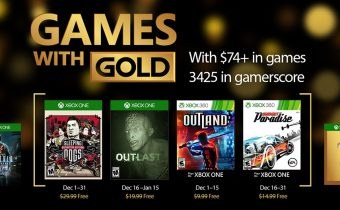 Games With Gold For December 2016