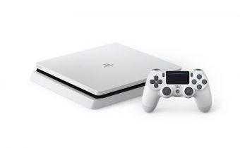 Glacier White PS4 Slim