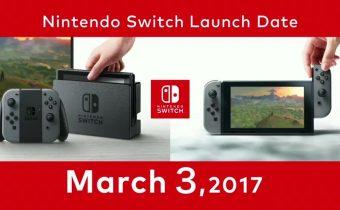 Nintendo Switch Launch Day