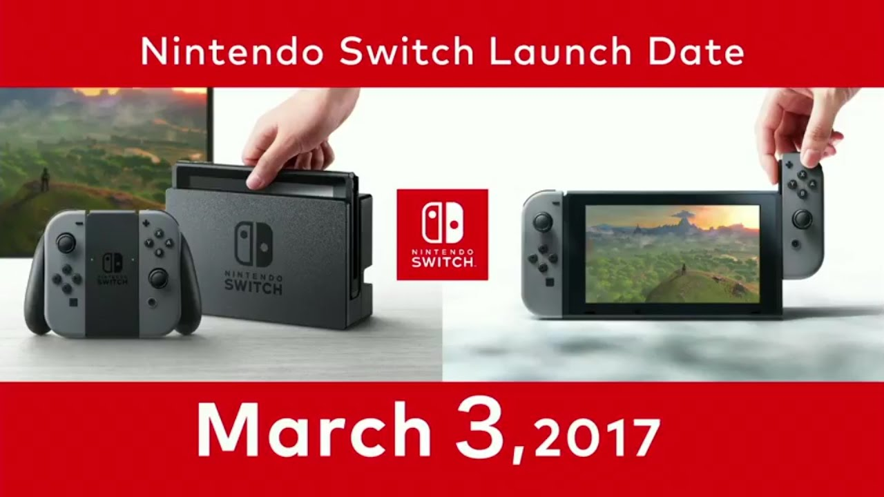 Nintendo Switch Launch Day