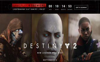 Destiny 2 Gameplay Premiere