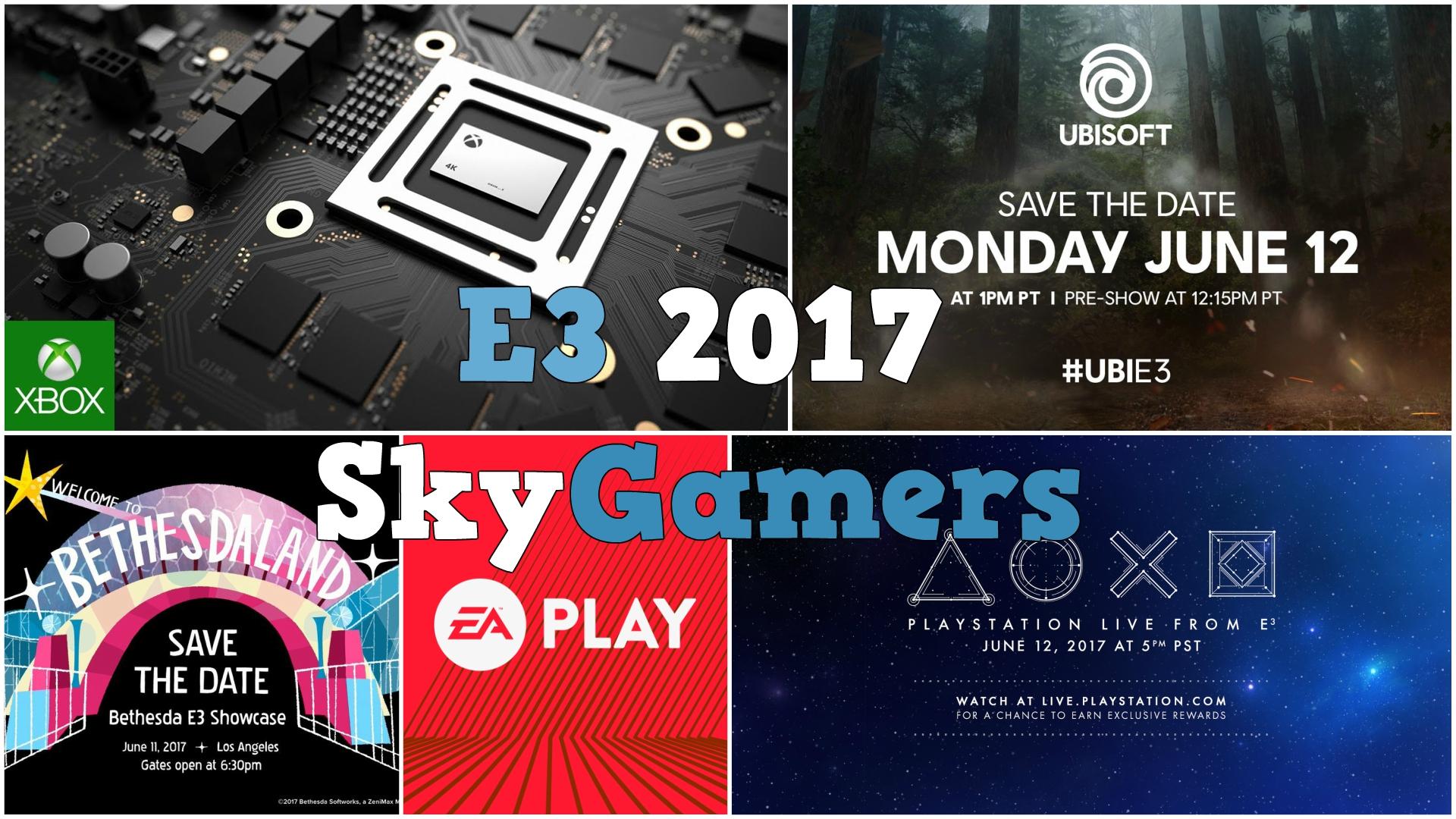 E3 2017 Streams
