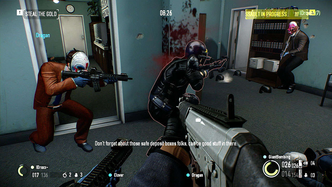 Free copies of Payday 2