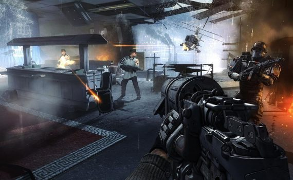 Wolfenstein 2 The New Colossus for Switch