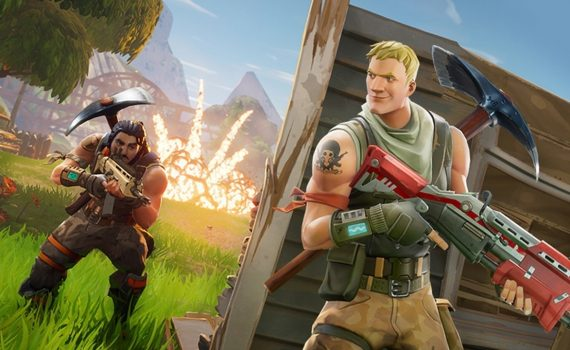 SkyGamers Plays Fortnite Battle Royale