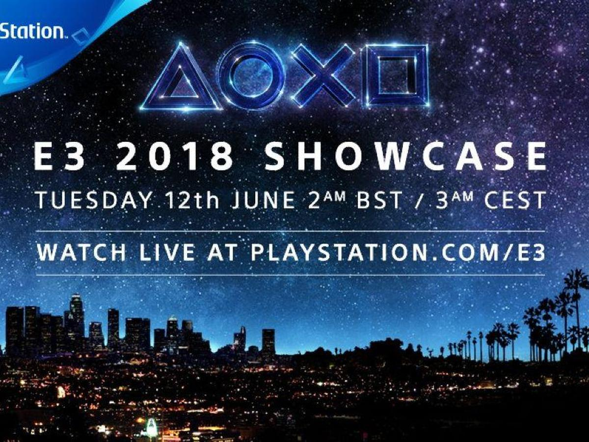 Sony E3 Showcase