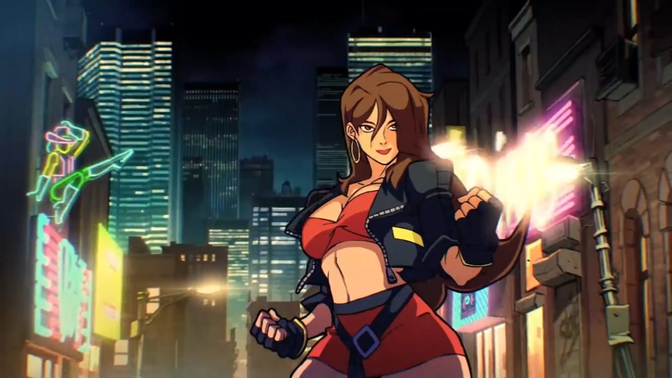Streets of Rage 4 Reveal trailer