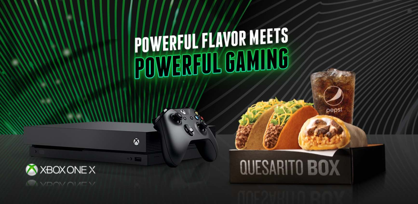 Taco Bell XBOX One X Competition Giveaway
