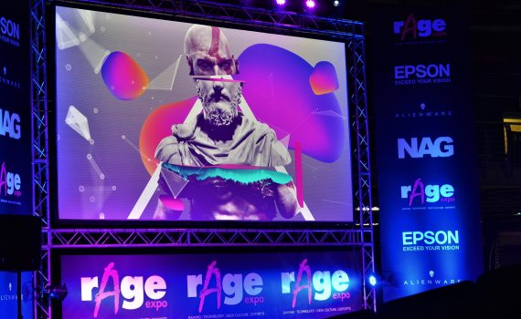 #rAgeExpo2018 Day 1 Gallery