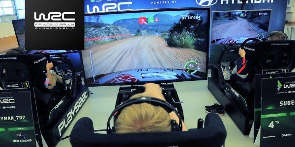 ESPORTS WRC Powered by Hyundai starts today