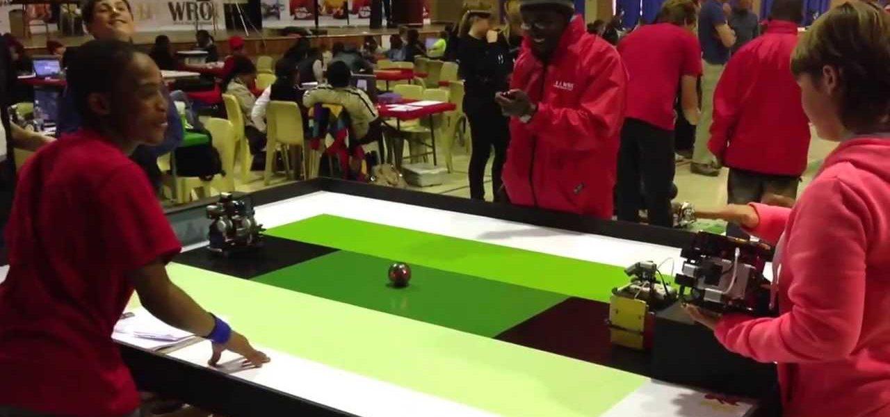World Robotic Olympia SA is coming to rAge