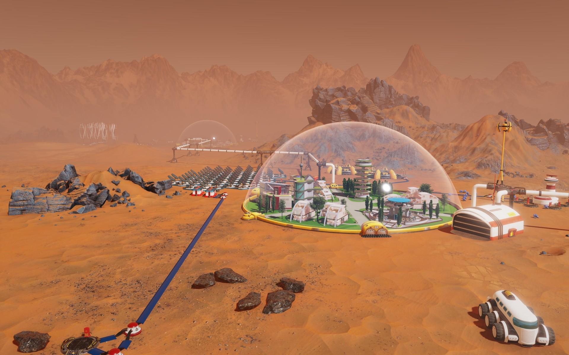 Surviving Mars announcement trailer