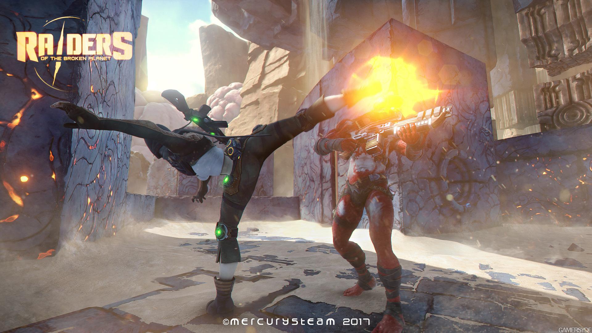 Raiders of the broken planet release date