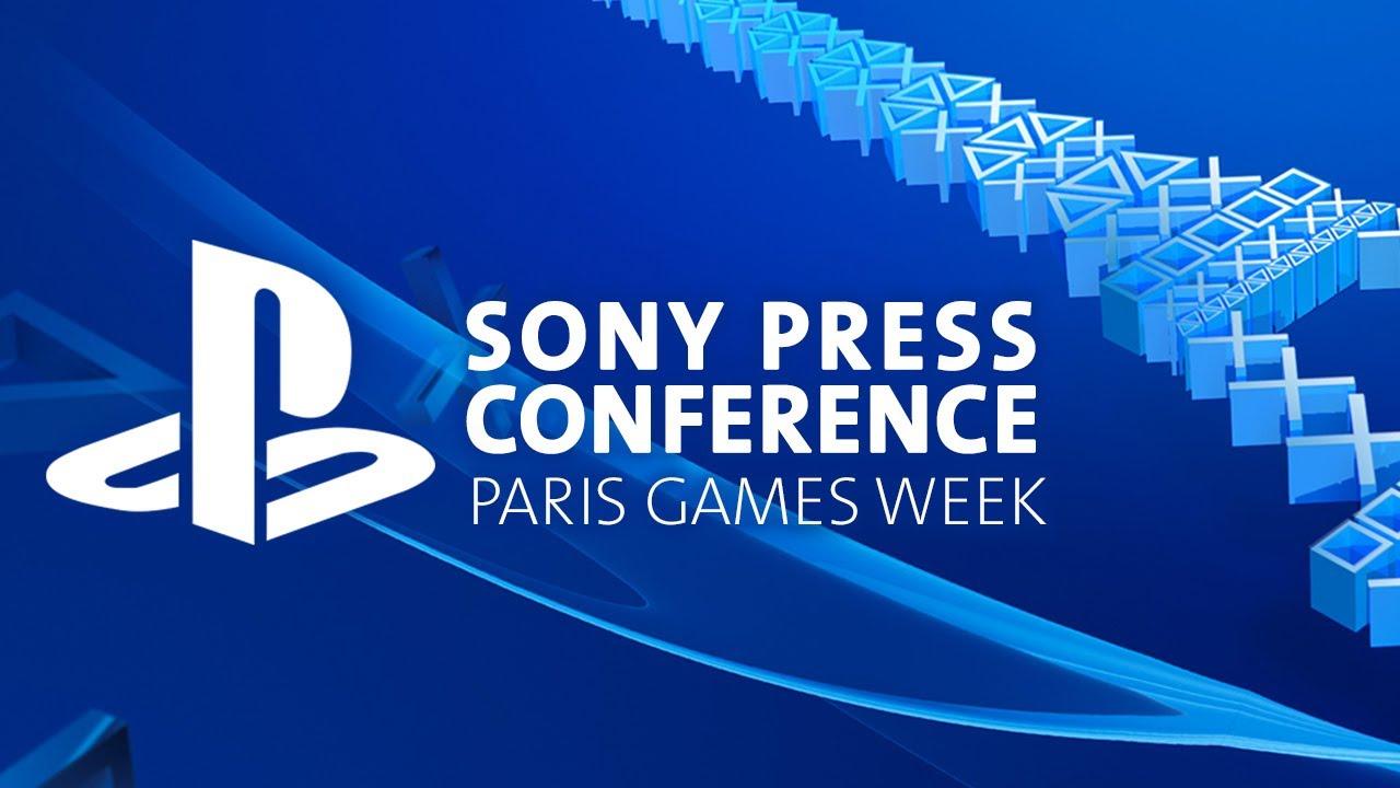 Sony PlayStation Paris Games Week 2017