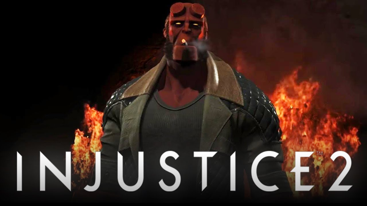 Hellboy out now for Injustice 2