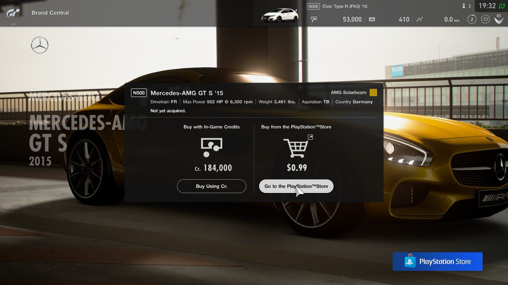 Microtransactions in GT Sport