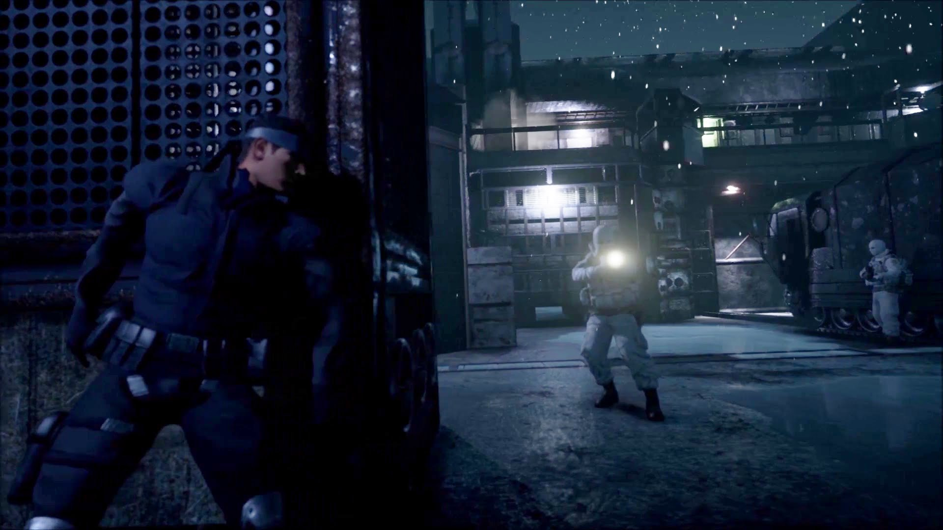 Unreal Engine 4 Metal Gear Solid Intro