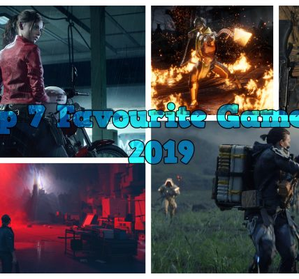 Top 7 Favourite Games of 2019