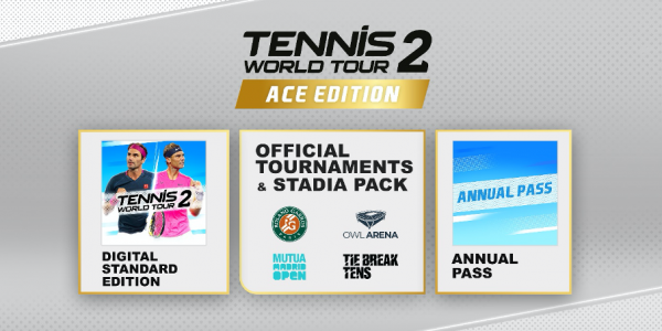 Tennis World Tour 2 Release Date Revealed on all Platforms
